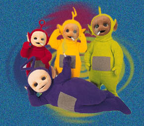 Teletubbies röker på